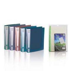 Cheap Stationery Supply of Snopake A4 2 Ring Binder 25mm Electra Assorted with FOC Pockets Office Statationery