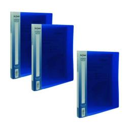 Cheap Stationery Supply of Snopake A4 2 Ring Binder 15mm Electra Blue Get 3 for the Price of  2 (Pack of 20 + 10) SK812398 Office Statationery