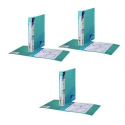 Cheap Stationery Supply of Snopake Polypropylene 2 Ring Binder A4 25mm Blue 3 For 2 (Pack of 20 + 10) SK812400 Office Statationery