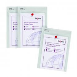Cheap Stationery Supply of Snopake Polyfile P File Wallet Portrait A5 Clear 3 For 2 SK812406 Office Statationery