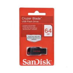 Cheap Stationery Supply of Sandisk Cruzer Blade 64GB USB Flash Drive SDCZ50-064G-B35 Office Statationery