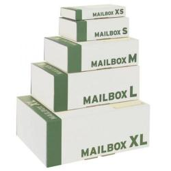 Cheap Stationery Supply of Smartbox Mailbox Mailing Carton Easy Assemble XL White 460x340x175mm 141314195 Pack of 20 141314195 Office Statationery
