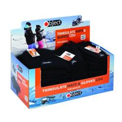 Cheap Stationery Supply of Thinsulate Gloves and Hats Knitted Black (Pack of 24) SP123/4 Office Statationery