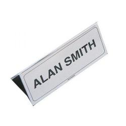 Cheap Stationery Supply of Name Holder 150x65mm Transparent IBNP1 IBNP1 Office Statationery