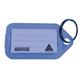 Kevron Plastic Clicktag Key Tag Blue (Pack of 100) ID5BLU100