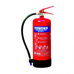Cheap Stationery Supply of Spectrum Industrial Fire Extinguisher ABC Powder 9kg 14369 Office Statationery