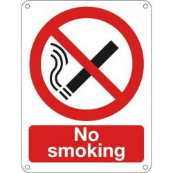 Cheap Stationery Supply of Signslab No Smoking 400x300mm PVC P01T/R Office Statationery