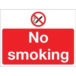 Cheap Stationery Supply of Signslab No Smoking 300x400mm PVC P01Y/R Office Statationery