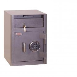 Cheap Stationery Supply of Phoenix Cash Deposit SS0996ED Size 1 Security Safe with Electronic Lock Office Statationery