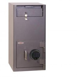 Cheap Stationery Supply of Phoenix Cash Deposit SS0997FD Size 2 Security Safe with Fingerprint Lock Office Statationery