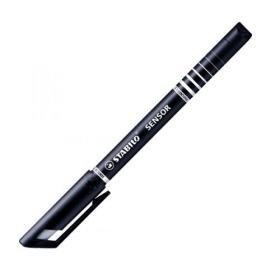 Stabilo Suspension Tip Fineliner Pens Black (Pack of 10) 189/46