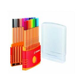 Stabilo Point 88 ColorParade Fineliner Pens (Pack of 20) 8820-03