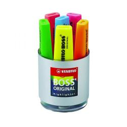 Cheap Stationery Supply of Stabilo Boss Original Highlighter Assorted (Pack of 6) 7006 Office Statationery