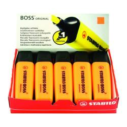 Cheap Stationery Supply of Stabilo Boss Original Highlighter Orange (Pack of 10) 70/54/10 Office Statationery