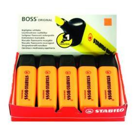 Stabilo Boss Original Highlighter Orange (Pack of 10) 70/54/10