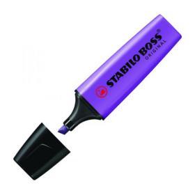 Stabilo Boss Original Highlighters Lavender (Pack of 10) 70/54