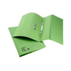 Cheap Stationery Supply of Initiative Transfer Spring File With Pocket Foolscap 285gsm Green Office Statationery