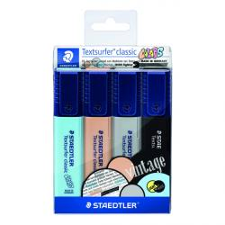 Cheap Stationery Supply of Staedtler Textsurfer Classic Highlighters (Pack of 4) 364 CWP4 Office Statationery