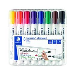 Cheap Stationery Supply of Staedtler Lumocolor 351 Drywipe Marker Assorted (Pack of 8) 351 WP8 Office Statationery