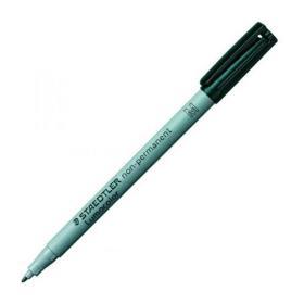 Staedtler Lumocolour Pen Non-Permanent Medium Black (Pack of 10) 315-9