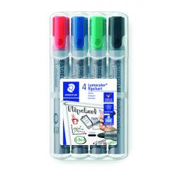 Cheap Stationery Supply of Staedtler Flipchart Marker Assorted (Pack of 4) 356 WP4 Office Statationery