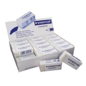 Staedtler Rasoplast Plastic Eraser (Pack of 30) 526-B30