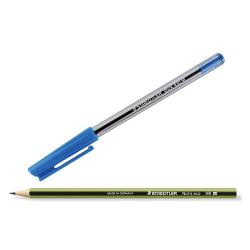 Cheap Stationery Supply of Buy 5 Packs of 10 Blue Stick Pens get a Pack of 12 Noris Eco Pencils Free Pack of 10 Office Statationery