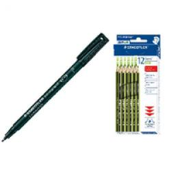 Cheap Stationery Supply of Staedtler 4x10 Lmclr Bk FOC P12 Pencils Office Statationery