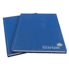 Silvine Feint Ruled Casebound Notebook A4 192 Pages (Pack of 6) CBA4
