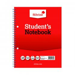 Cheap Stationery Supply of Silvine Ruled Student Notebook 229x178mm 120 Pages (Pack of 12) 139 Office Statationery