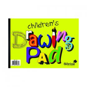 Silvine Children s Drawing Pad A4 (Pack of 12) 420