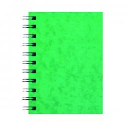 Cheap Stationery Supply of Silvine Luxpad Hardback Wirebound Notebook A6 (Pack of 12) SPA6 Office Statationery