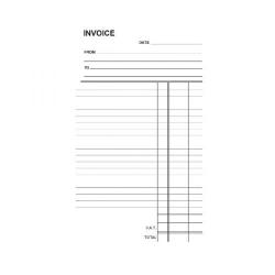 Cheap Stationery Supply of Silvine Duplicate Invoice Book 210x127mm (Pack of 6) 611 Office Statationery