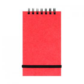 Silvine Elasticated Pocket Notepad 76x127mm 192 Pages (Pack of 12) 194