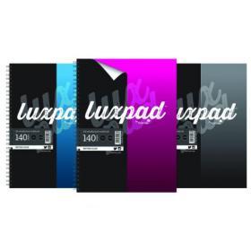 Silvine Luxpad Hardback Casebound Notebook A4 (Pack of 6) THBA4AC