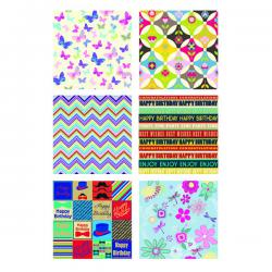 Cheap Stationery Supply of Tallon Assorted Gift Wrap (Pack of 36) 1470/72 Office Statationery