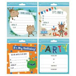 Cheap Stationery Supply of Tallon Boy Designs Invitation Cards (Pack of 192) 4399 Office Statationery
