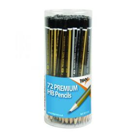 Tiger HB Pencils Display Pot Assorted (Pack of 72) 301532