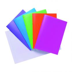 Cheap Stationery Supply of Polypropylene Covered Notebooks A4 40 Sheets Assorted (Pack of 10) 301550 Office Statationery