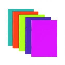 Cheap Stationery Supply of Polypropylene Covered Notebooks A5 40 Sheets Assorted  (Pack of 10) 301746 Office Statationery