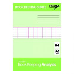 Cheap Stationery Supply of Book Keeping Book Analysis (Pack of 6) 302298 Office Statationery