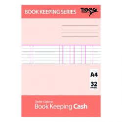 Cheap Stationery Supply of Book Keeping Cash Book A4 (Pack of 6) 302299 Office Statationery