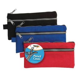 Cheap Stationery Supply of Chunky Zip Pencil Case (Pack of 12) 301317 Office Statationery