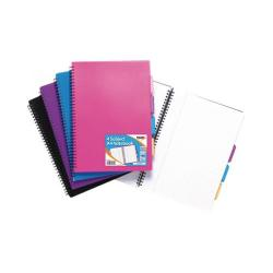 Cheap Stationery Supply of Tiger A4 Assorted Colour Notebook (Pack of 5) 301475 Office Statationery