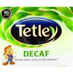 Cheap Stationery Supply of Tetley Decaffeinated Tea Bag (Pack of 80) 5012X Office Statationery