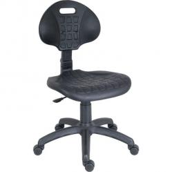 Cheap Stationery Supply of Teknik Office Labour Polyurethane Chair with Easy Clean Seat and Nylon Five Star Base Office Statationery