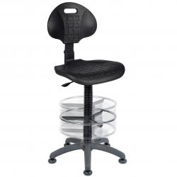 Cheap Stationery Supply of Teknik Office Labour Draughting Polyurethane Chair Deluxe Ring Kit Conversion With Movable Footrest Office Statationery