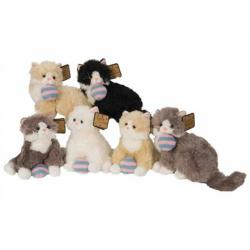 Cheap Stationery Supply of Cuddly Toy Cat 10 inch with Wool Ball 245/383 Promotional Item 245/383 Office Statationery