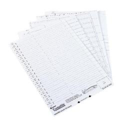Cheap Stationery Supply of Rexel Crystalfile Classic Crystal Link White (Pack of 50) 3000039 Office Statationery