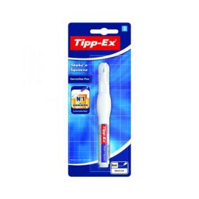 Tipp-Ex Shaken Squeeze Correction Pen 8ml (Pack of 10) 802422